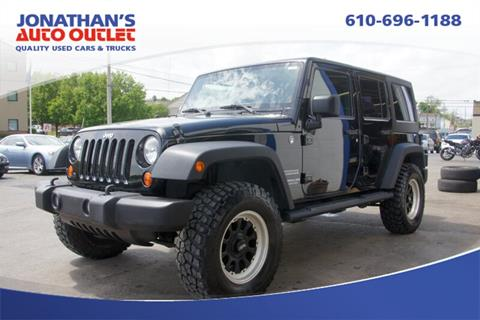 2011 Jeep Wrangler Unlimited for sale in West Chester, PA