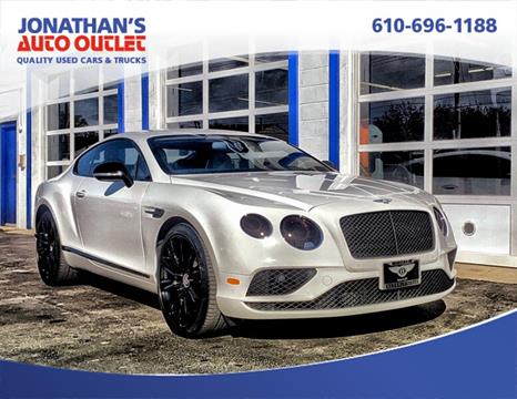 2016 Bentley Continental for sale in West Chester, PA