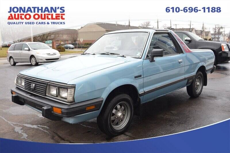 1986 Subaru Brat GL