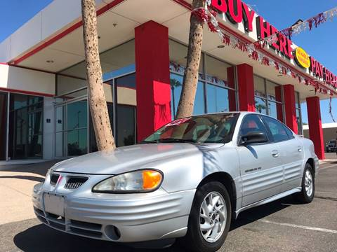 2001 Pontiac Grand Am for sale in Glendale, AZ