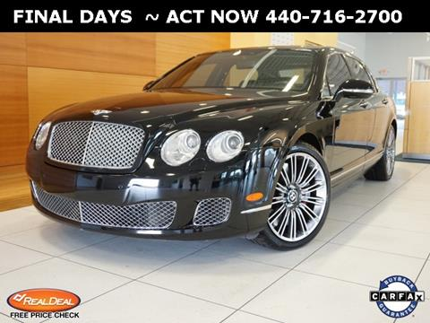 2012 Bentley Continental Flying Spur Speed for sale in North Olmstead, OH