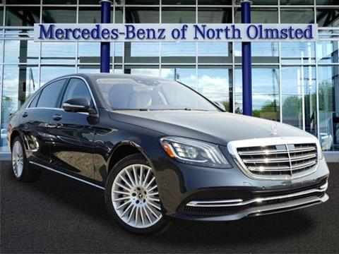 2018 Mercedes-Benz S-Class for sale in North Olmstead, OH