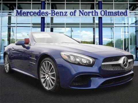 2018 mercedes benz sl class for sale for Mercedes benz of north olmsted