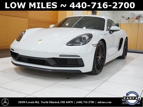2018 Porsche 718 Cayman for sale in North Olmstead, OH