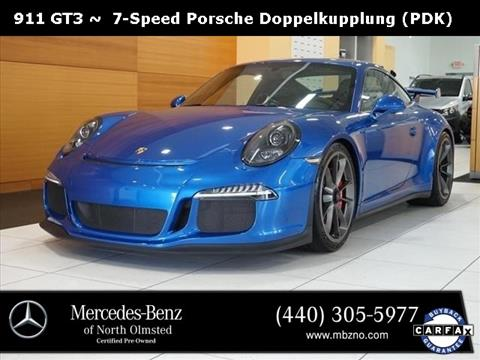 2016 Porsche 911 for sale in North Olmstead, OH