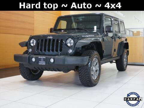 2017 Jeep Wrangler Unlimited for sale at Mercedes-Benz of North Olmsted in North Olmstead OH