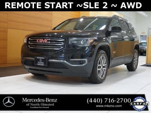 2018 GMC Acadia for sale at Mercedes-Benz of North Olmsted in North Olmstead OH