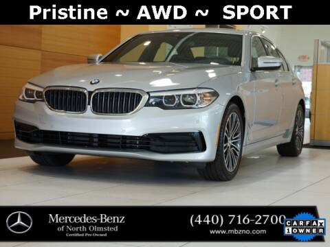 2020 BMW 5 Series for sale at Mercedes-Benz of North Olmsted in North Olmstead OH