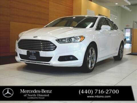 2014 Ford Fusion for sale at Mercedes-Benz of North Olmsted in North Olmstead OH