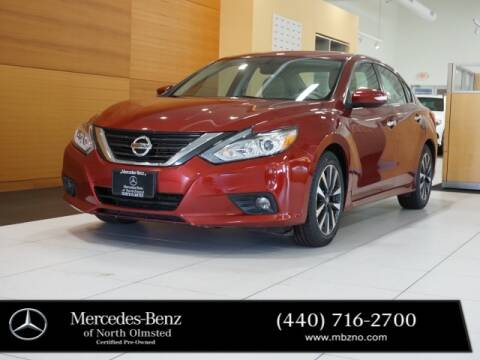 2016 Nissan Altima for sale at Mercedes-Benz of North Olmsted in North Olmstead OH