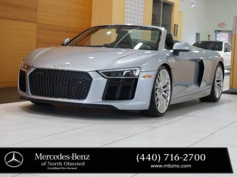 2018 Audi R8 for sale at Mercedes-Benz of North Olmsted in North Olmstead OH