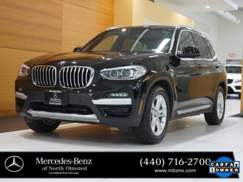 2020 BMW X3 for sale at Mercedes-Benz of North Olmsted in North Olmstead OH