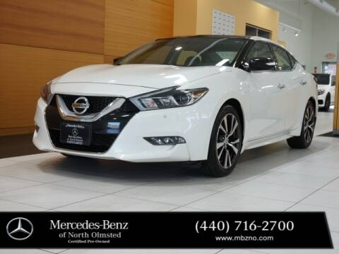 2017 Nissan Maxima for sale at Mercedes-Benz of North Olmsted in North Olmstead OH