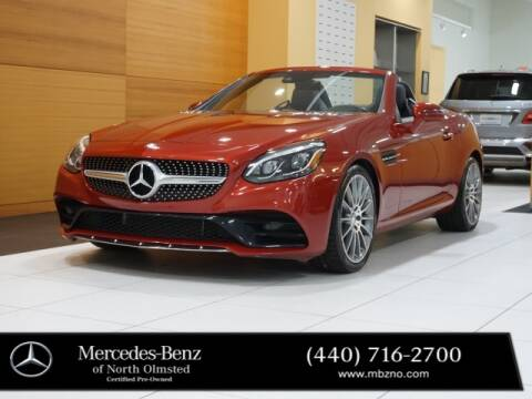 2017 Mercedes-Benz SLC for sale at Mercedes-Benz of North Olmsted in North Olmstead OH