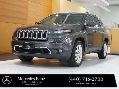 2016 Jeep Cherokee for sale at Mercedes-Benz of North Olmsted in North Olmstead OH