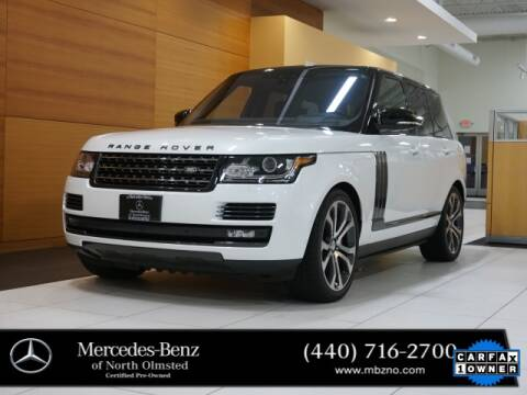 2017 Land Rover Range Rover for sale at Mercedes-Benz of North Olmsted in North Olmstead OH