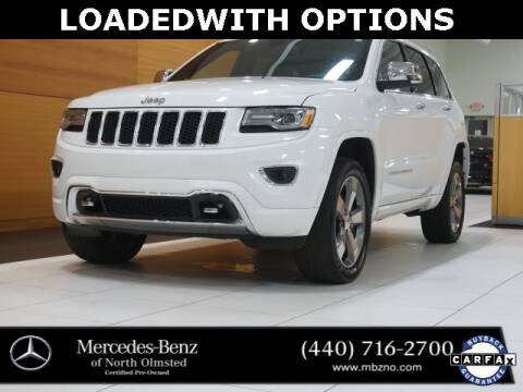 2016 Jeep Grand Cherokee for sale at Mercedes-Benz of North Olmsted in North Olmstead OH