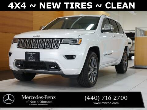 2017 Jeep Grand Cherokee for sale at Mercedes-Benz of North Olmsted in North Olmstead OH