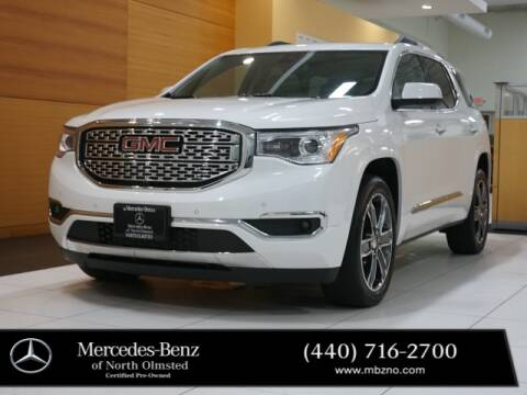 2017 GMC Acadia for sale at Mercedes-Benz of North Olmsted in North Olmstead OH