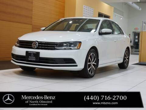 2017 Volkswagen Jetta for sale at Mercedes-Benz of North Olmsted in North Olmstead OH