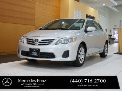 2013 Toyota Corolla for sale at Mercedes-Benz of North Olmsted in North Olmstead OH