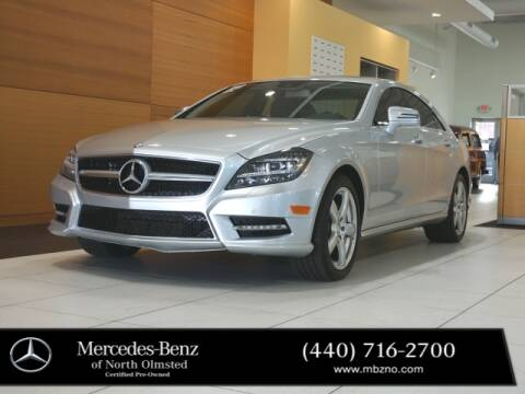 2013 Mercedes-Benz CLS for sale at Mercedes-Benz of North Olmsted in North Olmstead OH