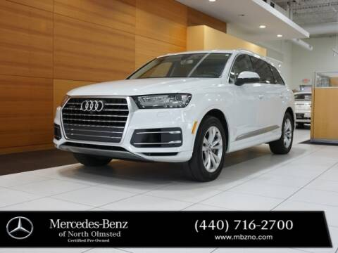 2017 Audi Q7 for sale at Mercedes-Benz of North Olmsted in North Olmstead OH