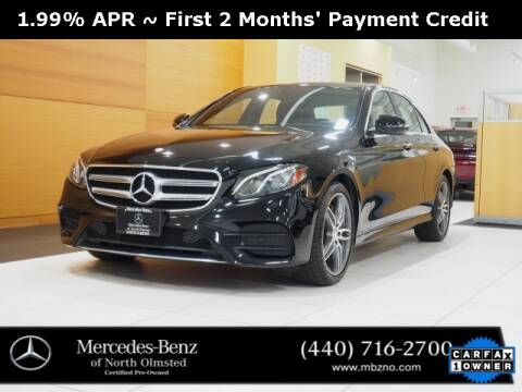 2017 Mercedes-Benz E-Class for sale at Mercedes-Benz of North Olmsted in North Olmstead OH