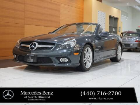 2009 Mercedes-Benz SL-Class for sale at Mercedes-Benz of North Olmsted in North Olmstead OH