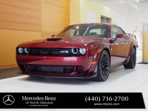 2018 Dodge Challenger for sale at Mercedes-Benz of North Olmsted in North Olmstead OH