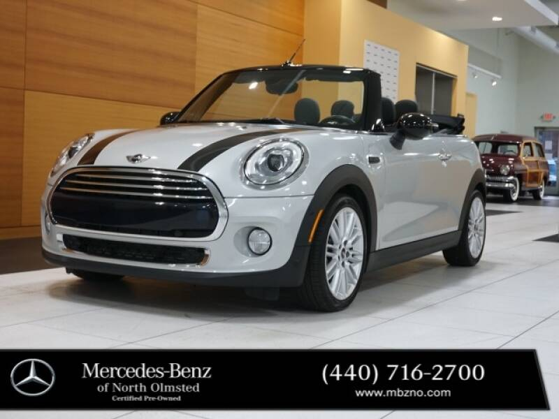 2018 MINI Convertible for sale at Mercedes-Benz of North Olmsted in North Olmstead OH