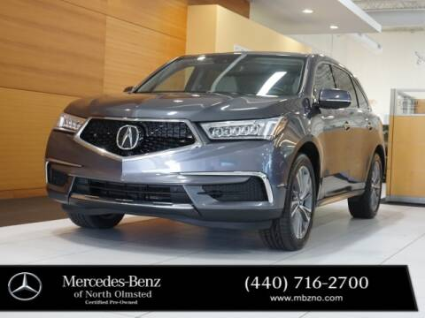 2017 Acura MDX for sale at Mercedes-Benz of North Olmsted in North Olmstead OH