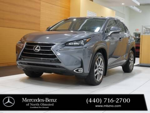 2016 Lexus NX 200t for sale at Mercedes-Benz of North Olmsted in North Olmstead OH