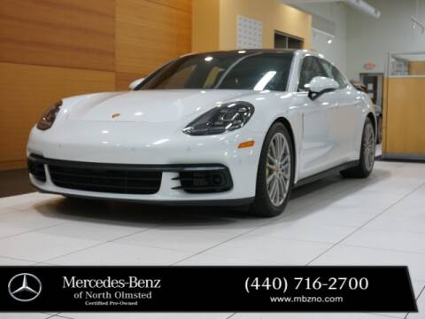 2017 Porsche Panamera for sale at Mercedes-Benz of North Olmsted in North Olmstead OH