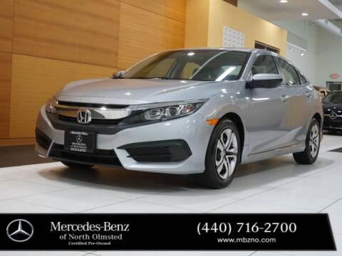 2018 Honda Civic for sale at Mercedes-Benz of North Olmsted in North Olmstead OH