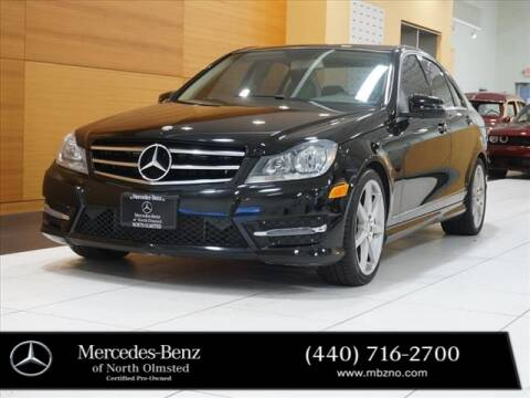 2014 Mercedes-Benz C-Class for sale at Mercedes-Benz of North Olmsted in North Olmstead OH