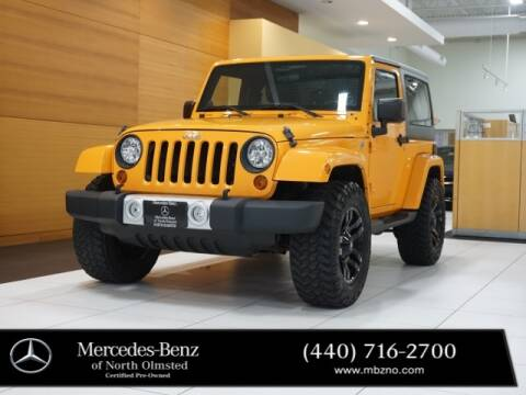 2012 Jeep Wrangler for sale at Mercedes-Benz of North Olmsted in North Olmstead OH