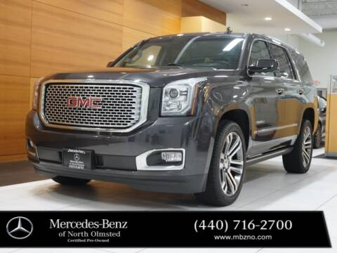 2017 GMC Yukon for sale at Mercedes-Benz of North Olmsted in North Olmstead OH