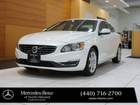 2016 Volvo S60 for sale at Mercedes-Benz of North Olmsted in North Olmstead OH