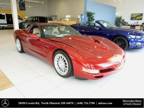 1999 chevrolet corvette for sale in ohio. Black Bedroom Furniture Sets. Home Design Ideas