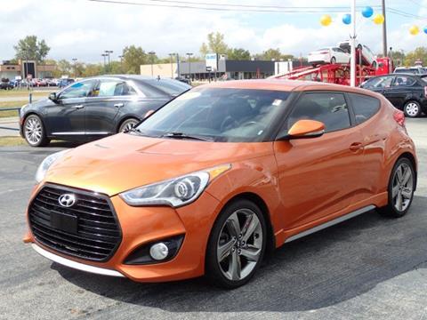 2013 Hyundai Veloster Turbo for sale in Merrillville, IN