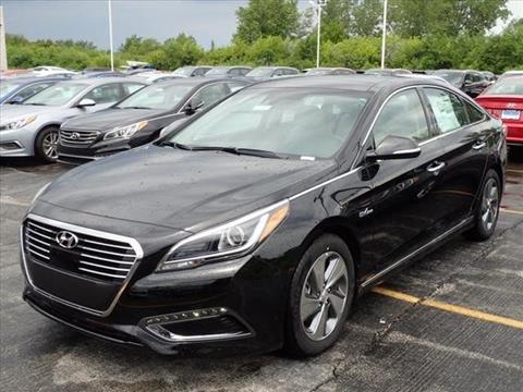 2017 Hyundai Sonata Hybrid for sale in Merrillville, IN