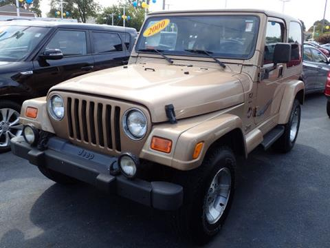 2000 Jeep Wrangler for sale in Highland, IN