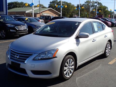 2013 Nissan Sentra for sale at Webb Hyundai Highland in Highland IN