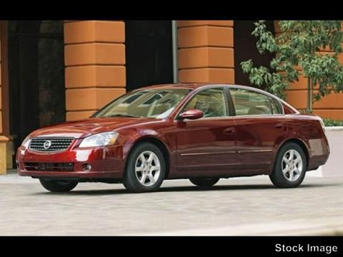 2006 Nissan Altima for sale at Webb Hyundai Highland in Highland IN