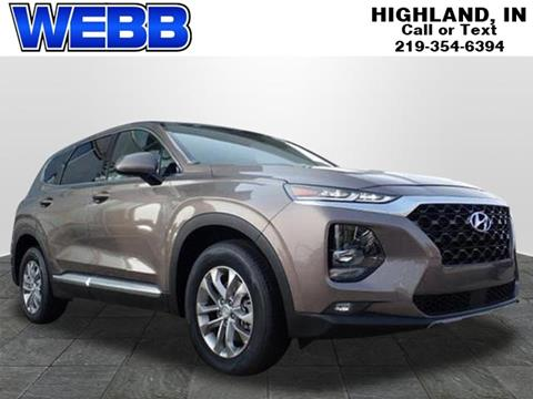 2019 Hyundai Santa Fe for sale in Highland, IN