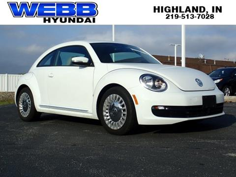 volkswagen beetle for sale in indiana carsforsale com