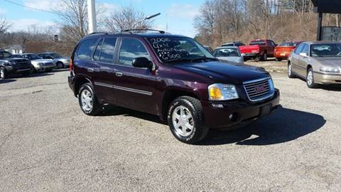 2008 GMC Envoy for sale at TEMPLE AUTO SALES in Zanesville OH