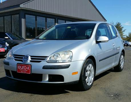 2007 Volkswagen Rabbit for sale at eurO-K in Benton ME