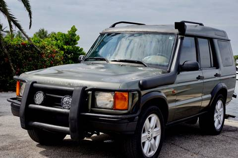 2000 Land Rover Discovery Series II for sale in Hollywood, FL